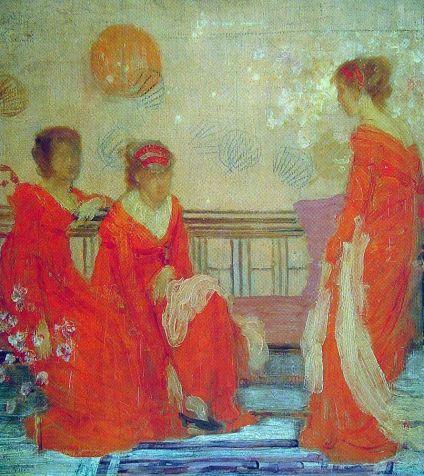 James Abbott Whistler - Red and Black
