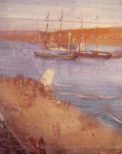 James Abbott Whistler - The Morning after the Revolution, Valparaiso