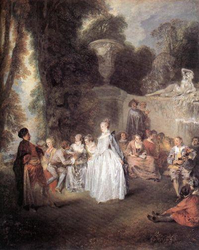 Jean-Antoine Watteau - Fetes Venitiennes