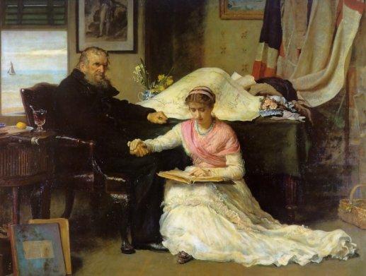 John Everett Millais - North-west Passage