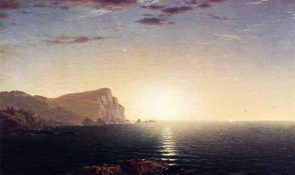 John Frederick Kensett - New England Sunrise