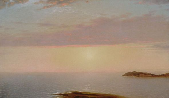 John Frederick Kensett - Sunset