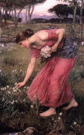 John William Waterhouse - Narcissus Jw