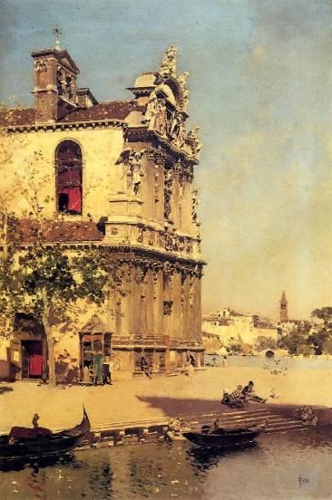 Martin Rico Ortega - A View Of Venice