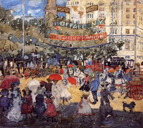 Maurice Prendergast - Madison Square