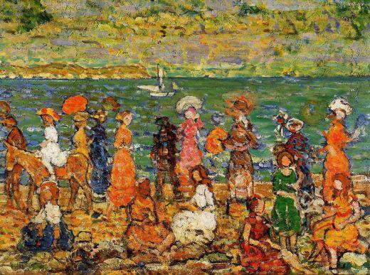 Maurice Prendergast - Seashore