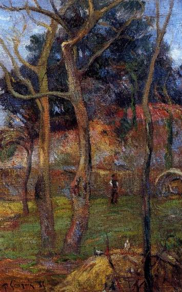 Paul Gauguin - Bare Trees