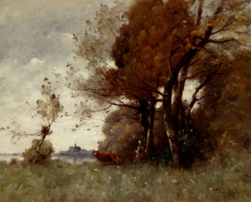 Paul Trouillebert - Autumn In Candes