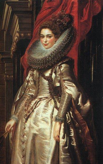 Peter Paul Rubens - Portrait Of Marchesa Brigida Spinola Doria
