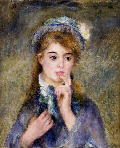 Pierre-Auguste Renoir - The Ingenue