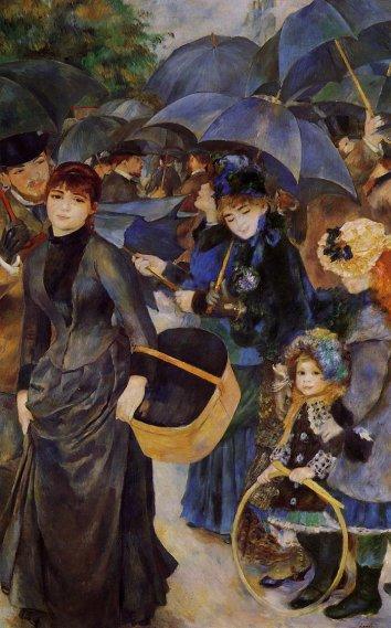 Pierre-Auguste Renoir - Umbrellas