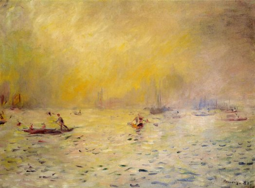 Pierre-Auguste Renoir - View of Venice, Fog