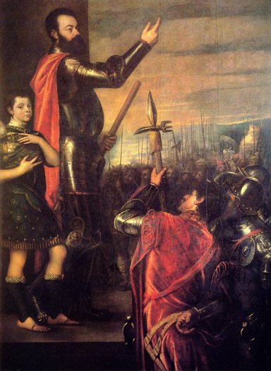 Titian - The Speech Of Alfonso D-avalo