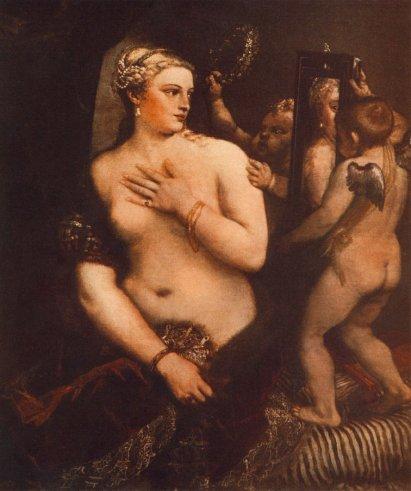 Titian - Venus At Her Toilet