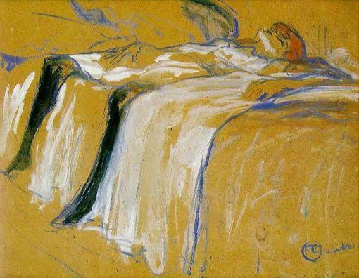 Toulouse Lautrec - Alone