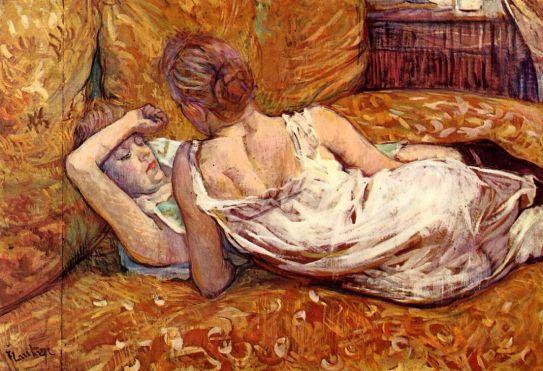Toulouse Lautrec - Devotion - The Two Girlfriends