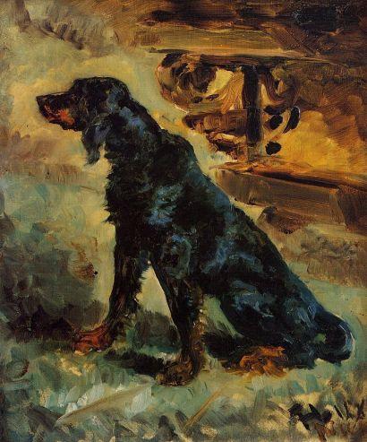 Toulouse Lautrec - Dun, a Setter Belonging to Comte Alphonse de Toulouse-Lautre