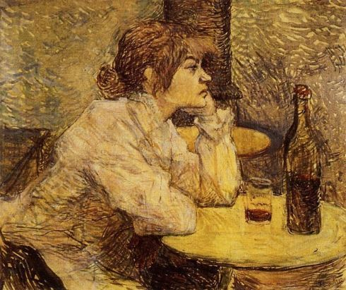 Toulouse Lautrec - Hangover (The Drinker)