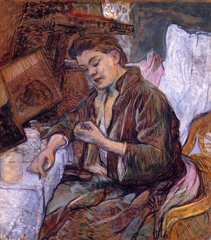 Toulouse Lautrec - La Toilette - Madame Fabre
