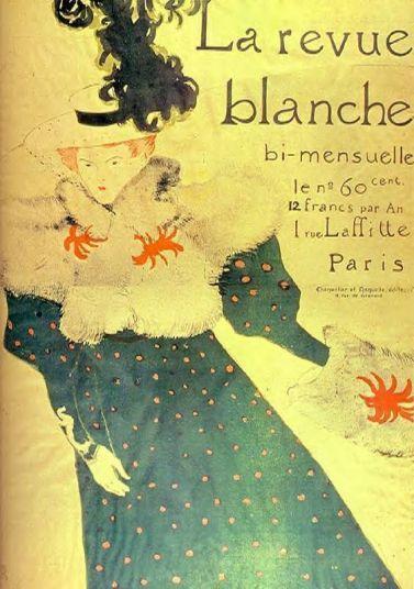 Toulouse Lautrec - Le Revue Blanche