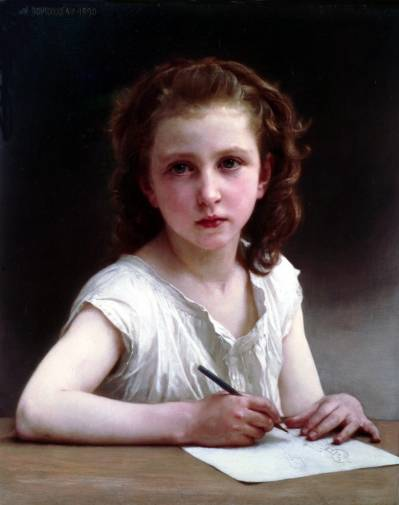 William Adolphe Bouguereau - A calling 1