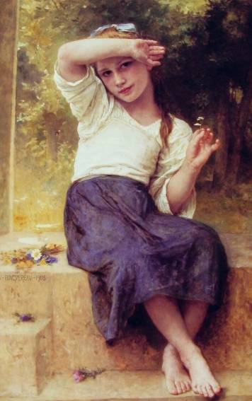 William Adolphe Bouguereau - Marguerite