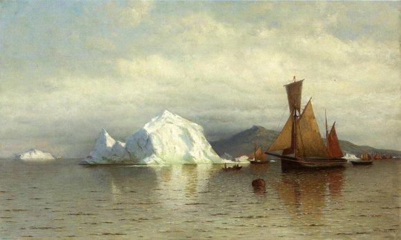 William Bradford - Labrador Fishing Boats Near Cape Charles
