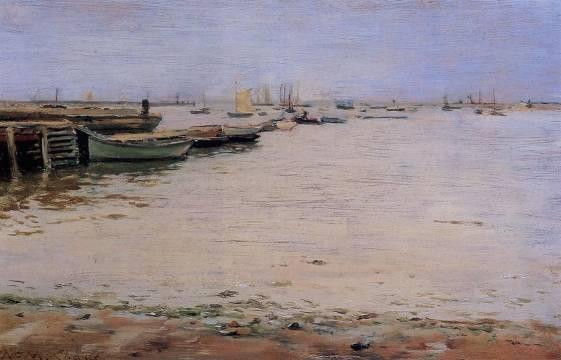 William Merritt Chase - Misty Day, Gowanus Bay