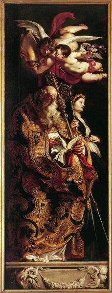 Peter Paul Rubens - Raising Of The Cross Sts Amand And Walpurgis