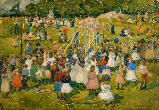 Maurice Prendergast - May Day, Central Park 1