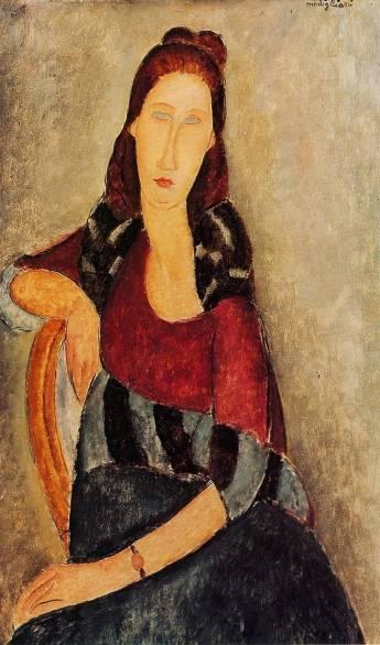 Amedeo Modigliani - Jeanne Hebuterne 7
