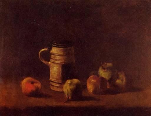 Vincent van Gogh - Still Life with Beer Mug and Fruit