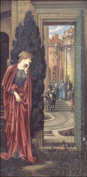 Edward Coley Burne-Jones - The Tower of Brass