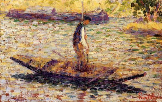 Georges Seurat - Fisherman