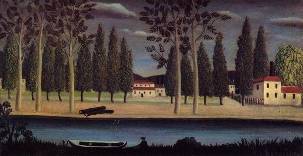 Henri Rousseau - River Bank