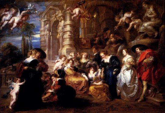 Peter Paul Rubens - The Garden Of Love