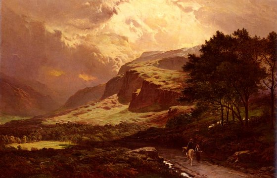 Sidney Richard Percy - Langdale, Westmorland