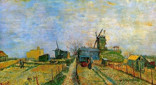 Vincent van Gogh - Vegetable Gardens in Montmartre 2