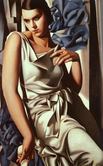 Tamara de Lempicka - Portrait of Mrs M