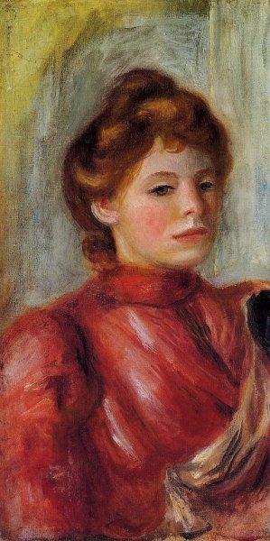 Pierre-Auguste Renoir - Portrait of a Woman 04