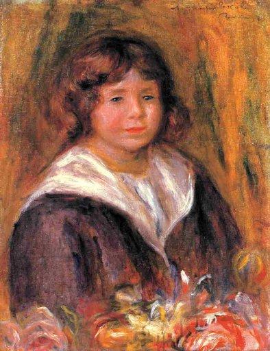 Pierre-Auguste Renoir - Portrait of a Boy (Jean Pascalis)