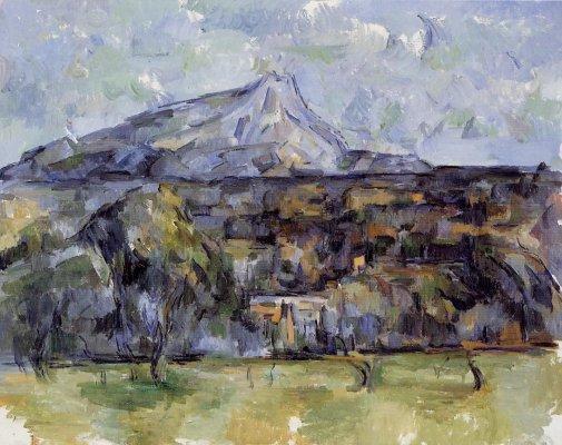 Paul Cezanne - Mont Sainte-Victoire Seen from les Lauves 2