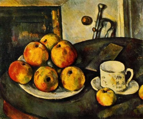 Paul Cezanne - Still Life with Apples 3