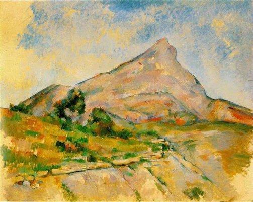Paul Cezanne - Mont Sainte-Victoire 5