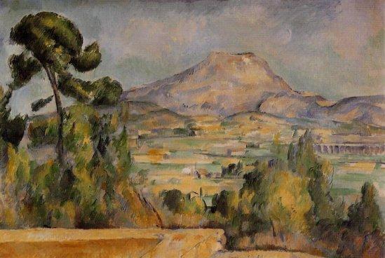 Paul Cezanne - Mont Sainte-Victoire 4