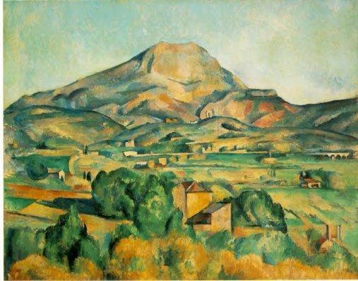 Paul Cezanne - Mont Sainte-Victoire 1