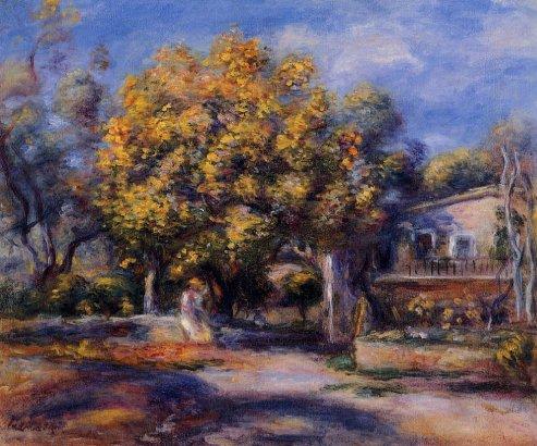 Pierre-Auguste Renoir - Houses at Cagnes 02
