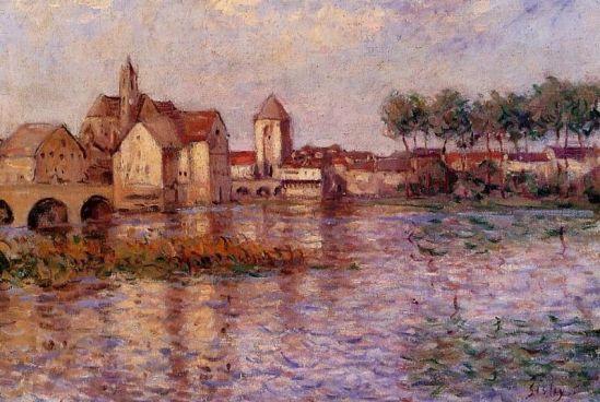 Alfred Sisley - Moret-sur-Loing 4