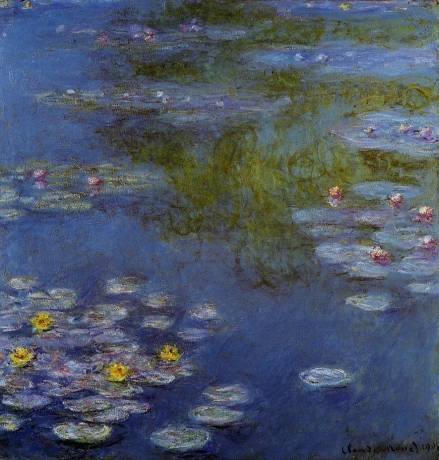 Claude Monet - Water Lilies 21