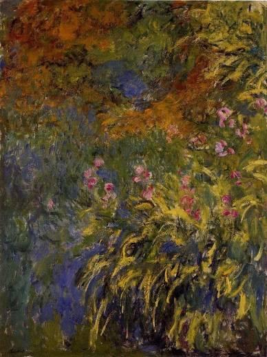 Claude Monet - Irises 1